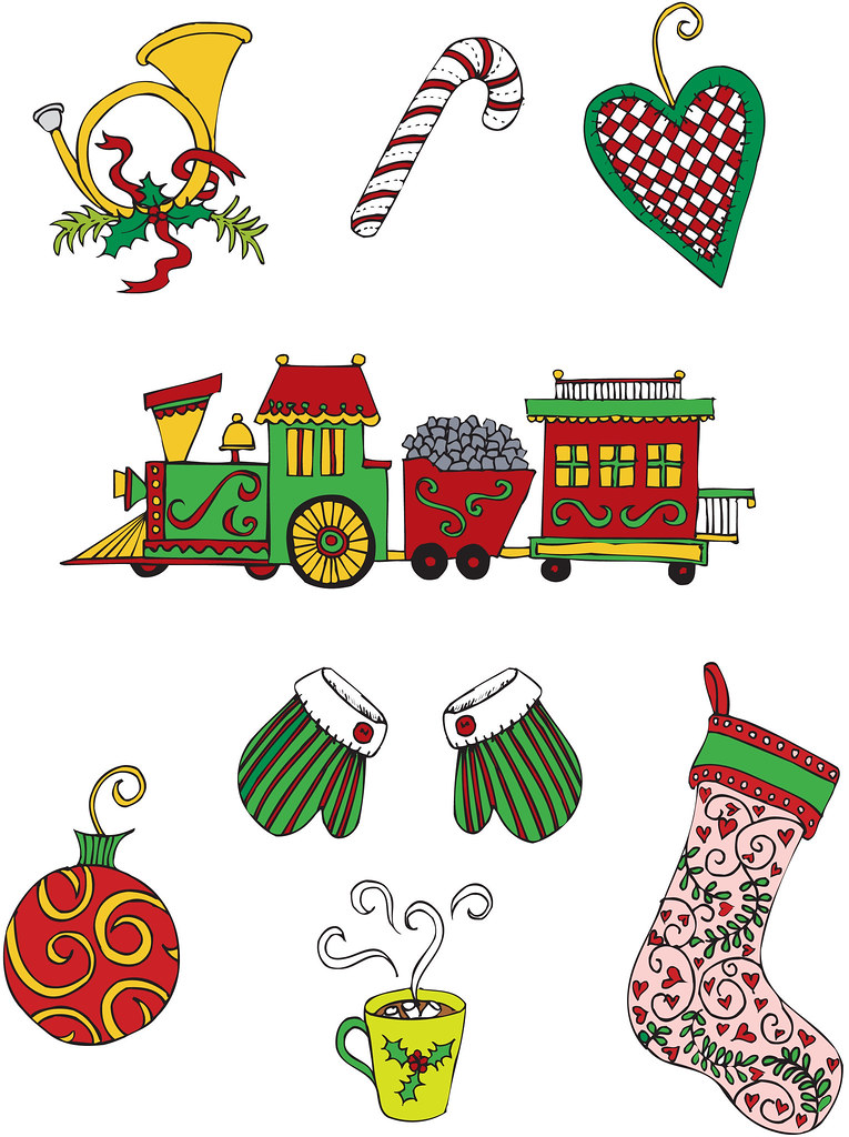 More Fun and Whimsical Christmas Clipart by Me :) | The ...