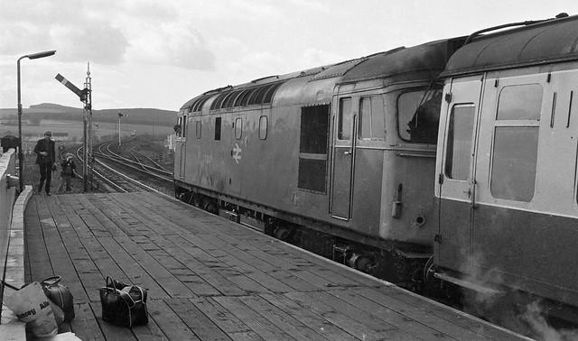 27012 at Stonehaven - 7th April, 1980