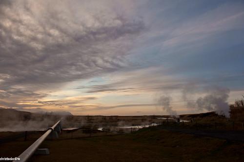 travel sunset landscape iceland hotspot islande d700 icelandrovers borgarfjarðarbraut