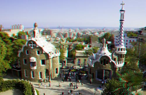 Gaudi of Barcelona, in 3D