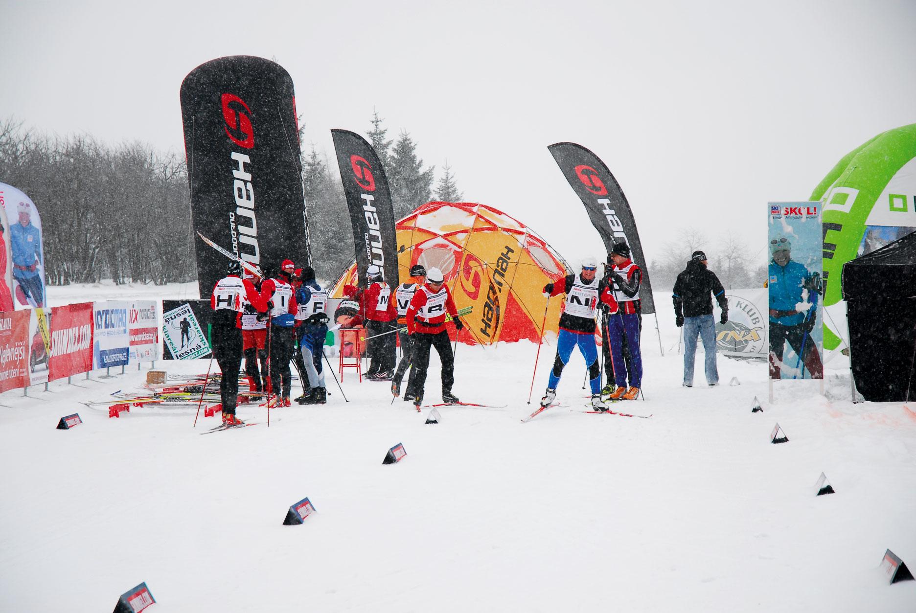 Test běžeckých lyží 2010/11