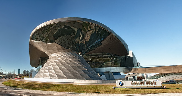 BMW Welt - HDR Panorama