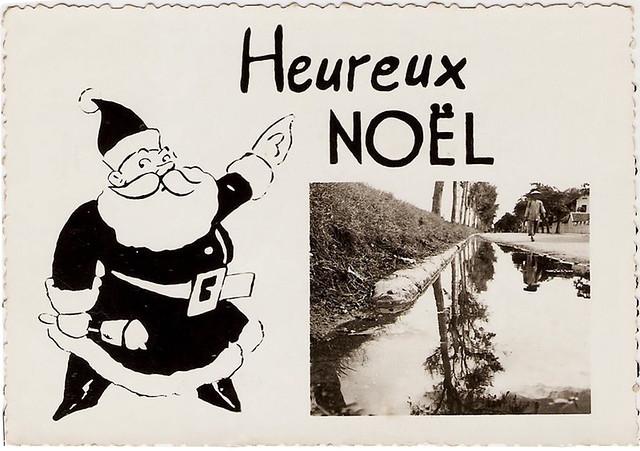 Viet-Nam. Tonkin 1951. Heureux Noel