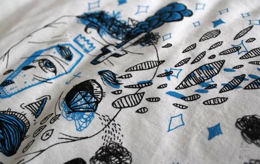 artill adventskalender - tür 20 - druckwelle shirt