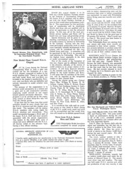This page of Model Ariplane News vol. 13, no. 3, October 1935 discusses the creation of a special National Aeronautic Association Model Airplane Council, what would become the AMA.