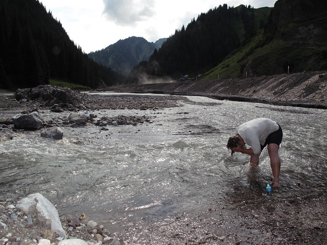 Freshwater rinse