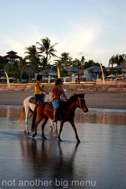 Bali - Kuta Beach horse