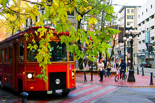 Sightseeing Trolley @ Gastown