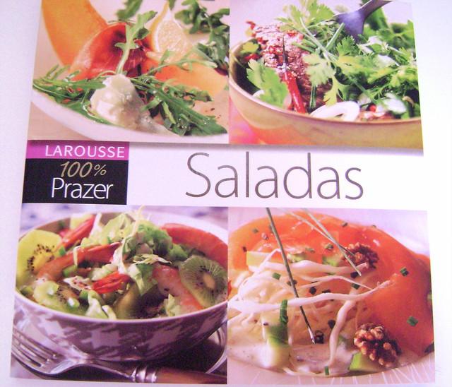 Livro 100% Prazer - Saladas - Editora La rousse