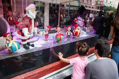 myer christmas windows in melbourne