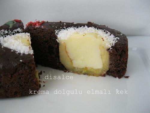 krema dolgulu elmalı kek2