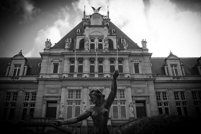 Belgique bruxelles saint gilles maison communale for Auderghem maison communale