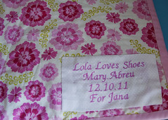fluevog mini quilt label
