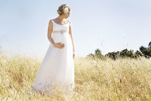 chiffon maternity wedding dresses