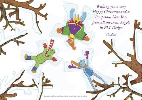 ELT Christmas card 2011