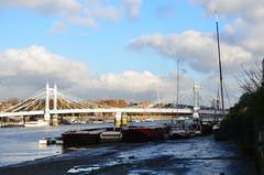 Albert Bridge from Battersea