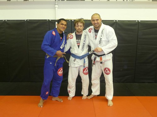 Blue belt, 4 stripes promotion