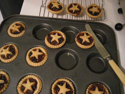 Mince pies - nearly as good as my mother's