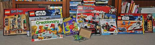 Mitchell Lego haul