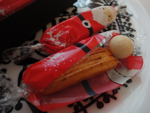 Christmas Rice Crackers from Ginza-Akebono 1