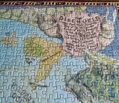 Discworld Mapp Jigsaw