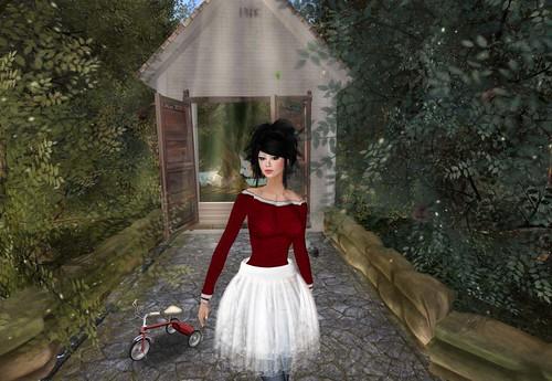 :pesca: 2011 Christmas gift veil skirt by Cherokeeh Asteria