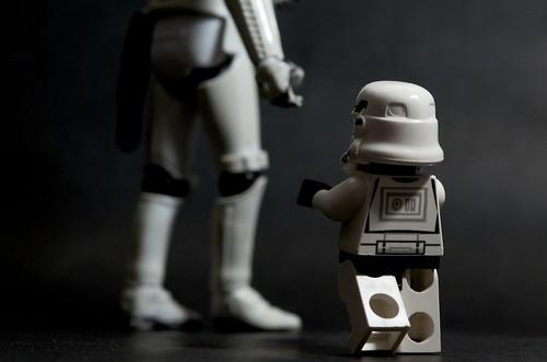 Wait for me... (mini-trooper version) by Kalexanderson