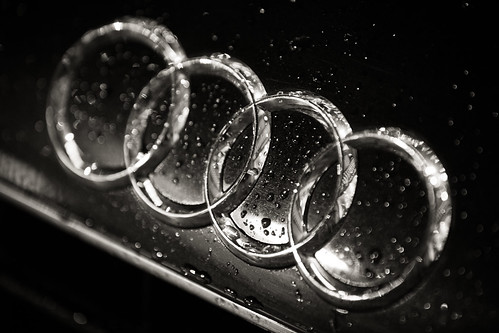 950/1000 - Audi Logo by Mark Carline