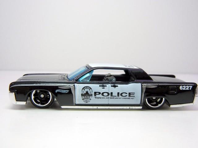 hot wheels 39 64 lincoln continental police 2 flickr. Black Bedroom Furniture Sets. Home Design Ideas