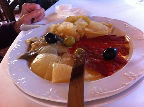 Olot | Restaurant La Deu | Escalivada