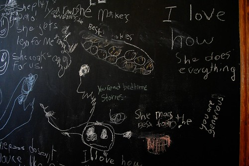 chalkboard messages