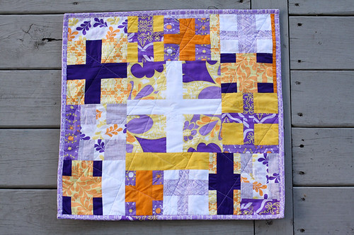 High Tide Mini Quilt by jenib320