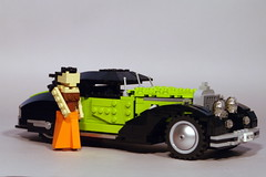 Key Lime - 1936 Mercedes-Benz 540 K Autobahnkurier