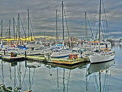 Victoria BC - harbour HDR