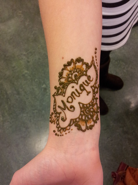 Names In Henna  Flickr  Photo Sharing