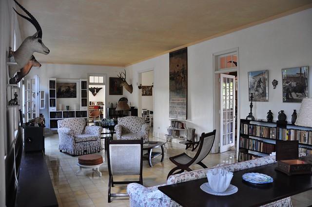 DSC_0215Heimingway's house, Finca Vigia in San Francisco de Paula, Cuba