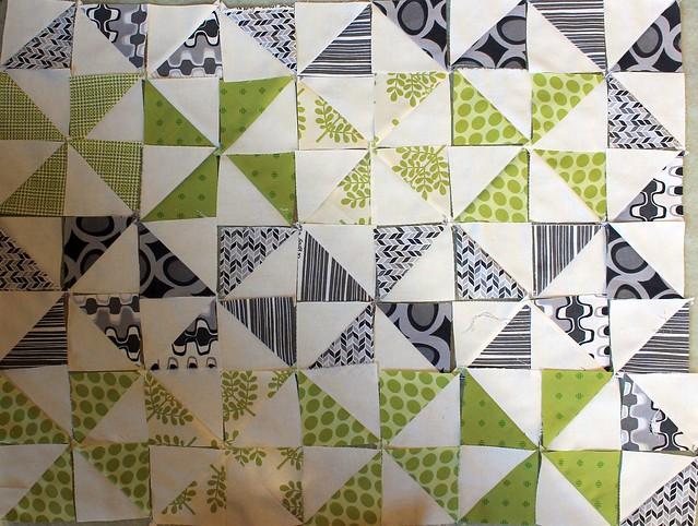 Organic Windmill Quilt