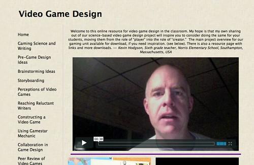 Video Game Design Screenshot