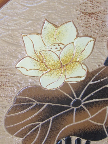 Ceramic Lotus Artwork