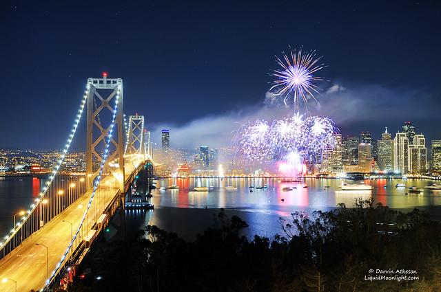 San Francisco 2012 Fireworks Celebration
