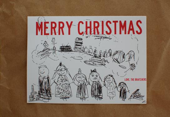 our 2011 Christmas card