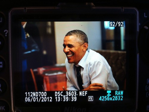 Dinner With Barack—Washington D.C., January 6th, 2012