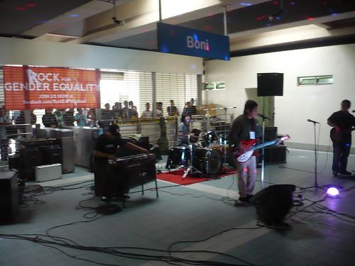 Go Signals in Boni Station