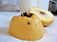 yellow, pear, produce, fruit, food,