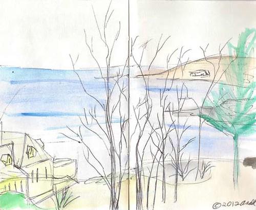 1.6.12 - View from the York Harbor Inn