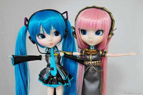 My Pullip Vocaloids