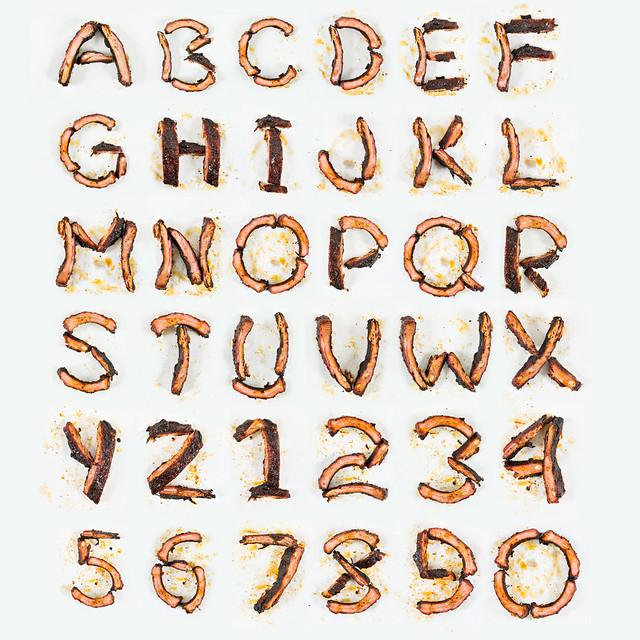 Rib Alphabet