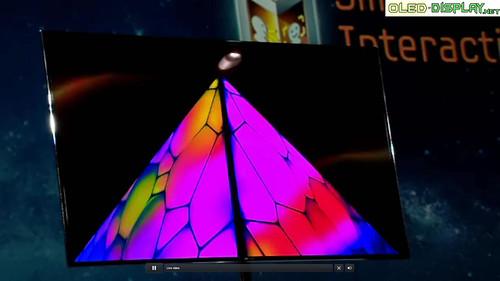 Samsung Super-OLED-Tv CES-2012