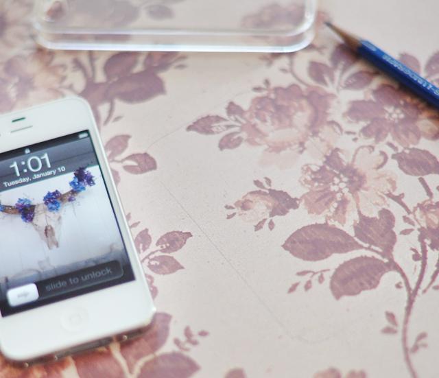 iphone case template diy