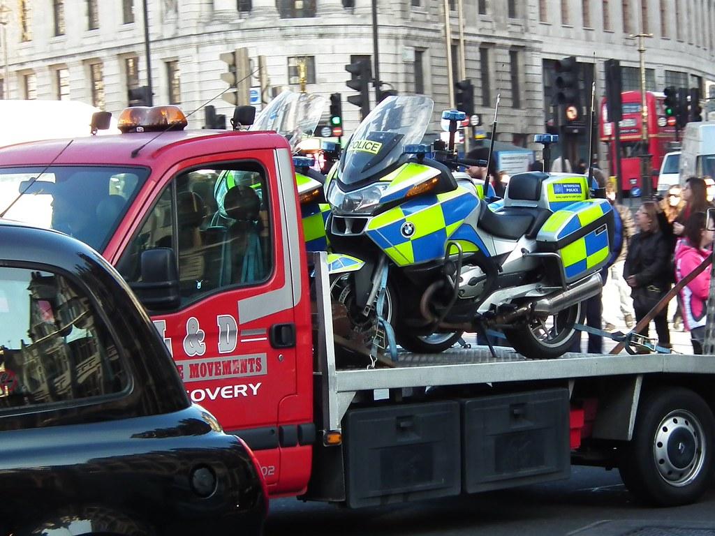 Met Police Bike Delivery | kenjonbro | Flickr